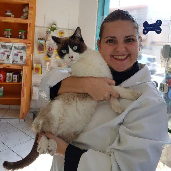 Kethye Priscila Ortêncio, veterinária em Santo André