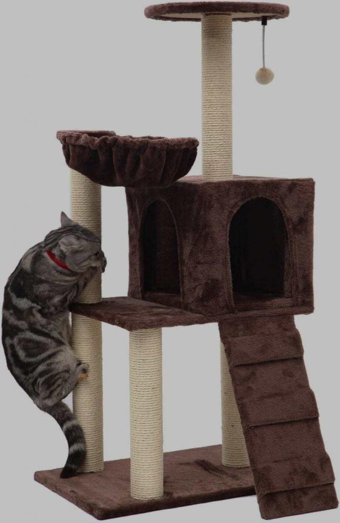 Como escolher e usar um poste para gato arranhar 4
